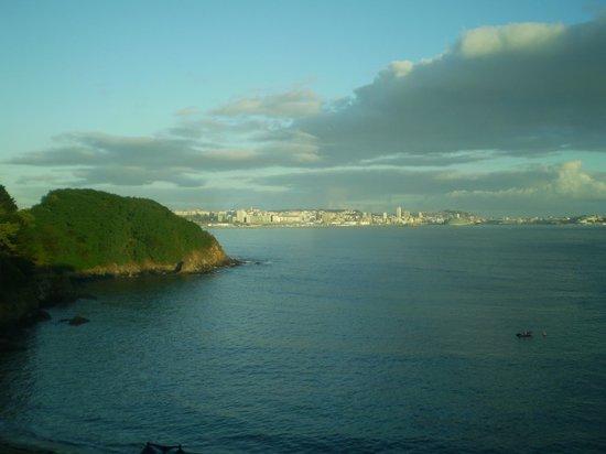 Hotel Portocobo: vistas de la Coruña