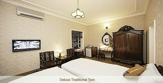 Hanoi Bella Vita Hotel: Deluxe Traditional twin