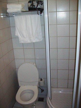Hotel Cabin: Toilette und Ablage
