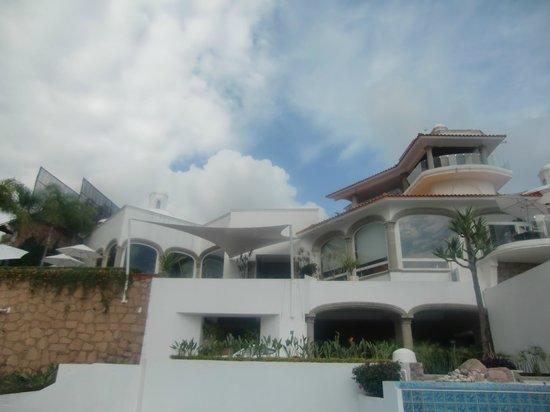 De Cantera y Plata Hotel Boutique: vista desde la alberca