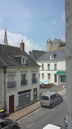 Le XII de Luynes : This was from our room, you can see the Chateaux