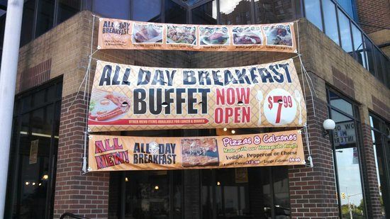 ‪All Day Breakfast Buffet.‬