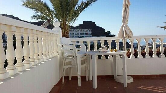 Rio Piedras Apartments: terraza