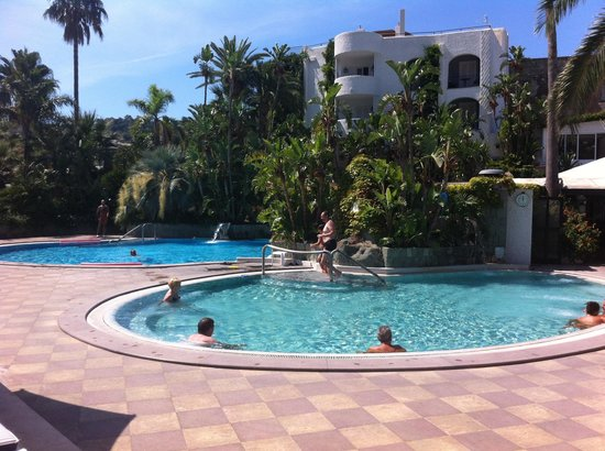 Hotel Parco Maria Terme: Piscine termali