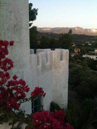 Villa Morpheus: la torretta