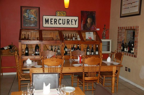 Marc's Mediterrean Cuisine & Garden: The restaurant