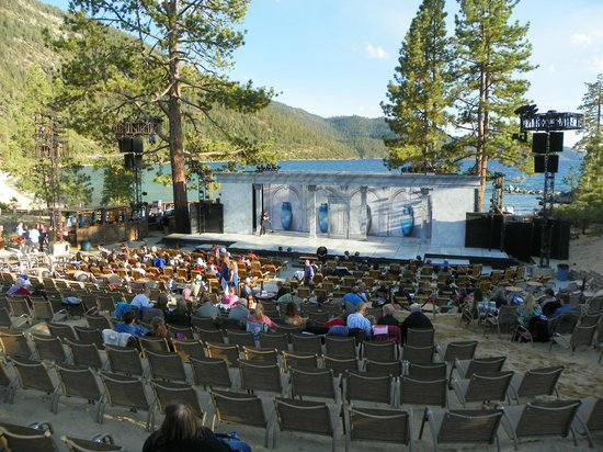 Lake Tahoe Shakespeare Festival: overview of the lakeside venue