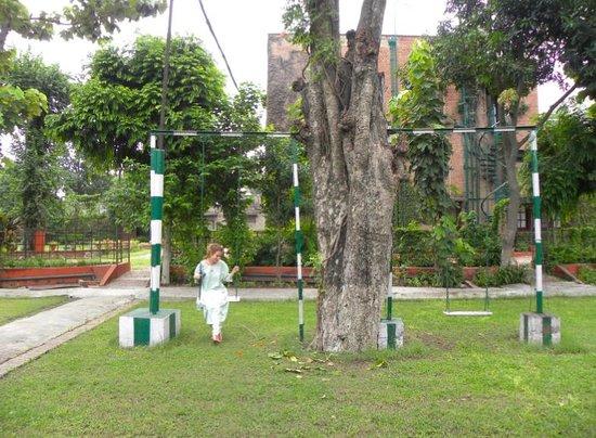 Mrs. Bhandari's Guesthouse: il giardino