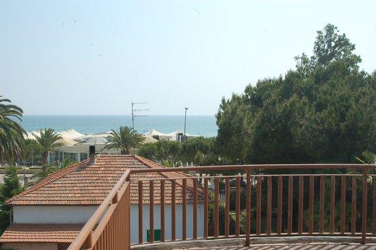 Villa Raffaella Bed & Breakfast : vista dal balcone del solarium