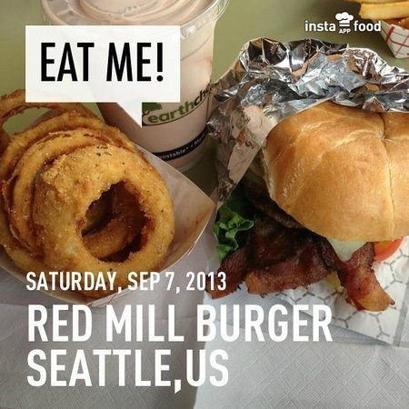 Red Mill Burgers--Interbay: Red Mill Burger
