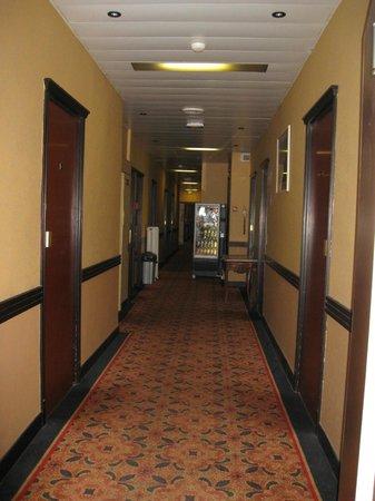 Hotel Busby : 2nd floor hallway