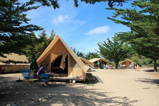 Vacances en camping foto van camping huttopia noirmoutier noirmoutier en l 39 ile tripadvisor - Camping bois de la chaise noirmoutier ...