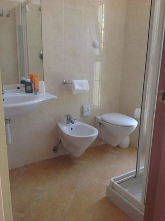 Hotel Union: Bagno