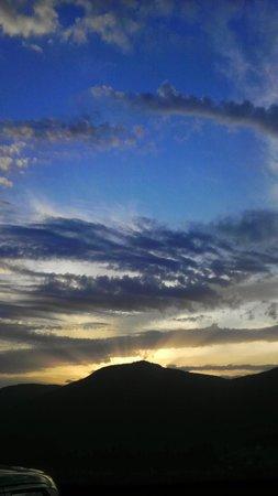 Hotel Tirol : 2 tramonto