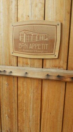 Bon appetit: Door