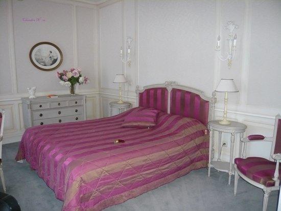 Le Clos de Bourgogne : la chambre