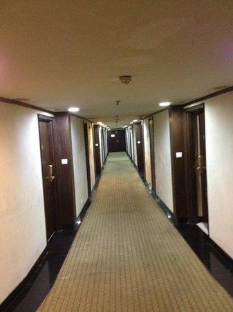 Centaur Hotel, IGI Airport: way to room