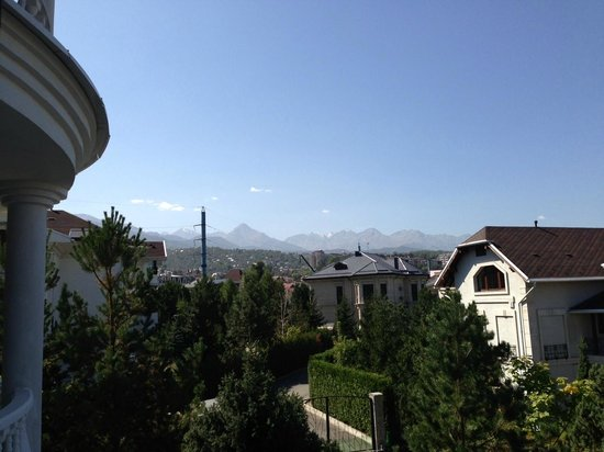 Donatello Boutique Hotel : View from our room - September 2013