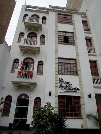 Casa San Martin. Lima