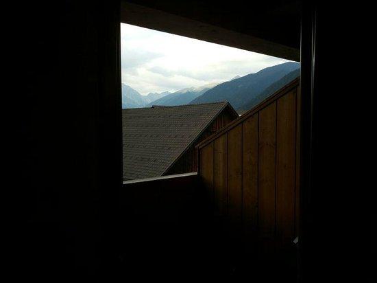 Alp Cron Moarhof Hotel: terrazzo e vista della stanza 315