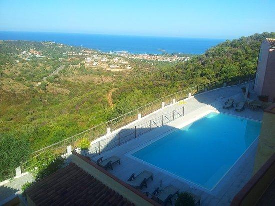 Hotel Castello: Vista panoramica dal terrazzino della nostra camera