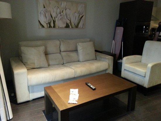 Pueblo Acantilado Suites : Salon