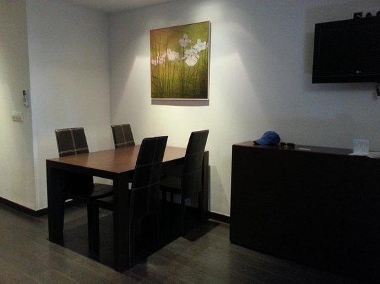 Pueblo Acantilado Suites : la salle à manger