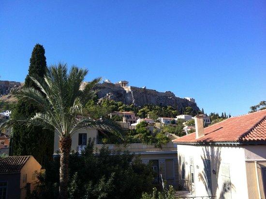 Adrian Hotel: Vista dal roof-garden per la colazione