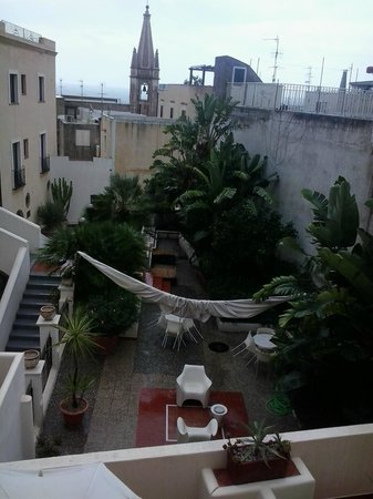 Villa Meligunis : vista dalla nostra camera
