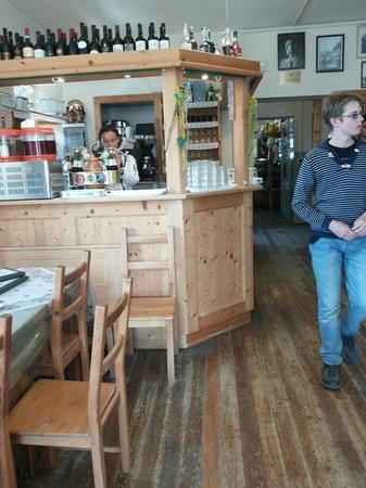 Dreizinnenhütte, Rifugio Antonio Locatelli: ristorante rifugio locatelli