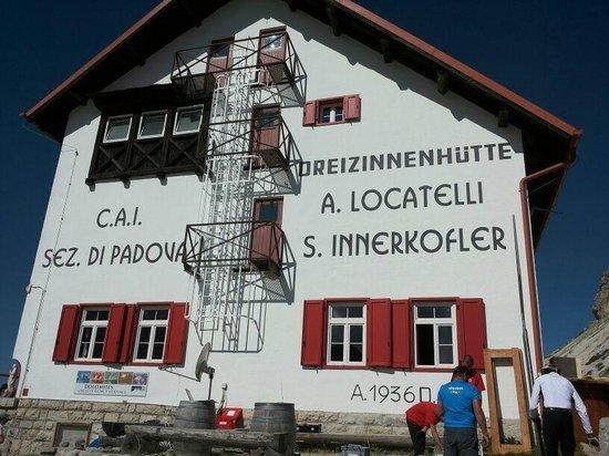 Dreizinnenhütte, Rifugio Antonio Locatelli: rifugio locatelli