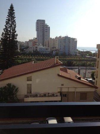 Kapetanios Odyssia: view from the balcony