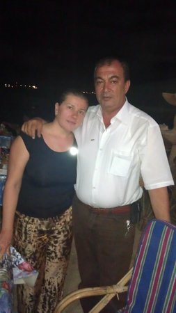 El Ferdous Fish Restaurant: Me and my husband