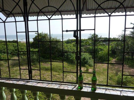 D'Mellos Guesthouse: Sicht aus dem Zimmer