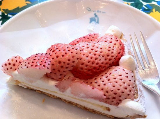 Quil fait bon: White Strawberry Tart