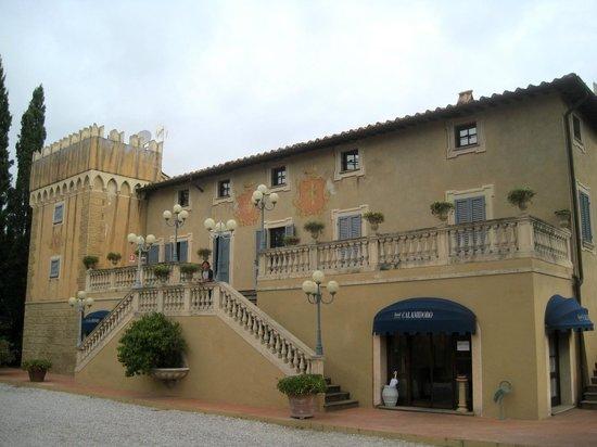 Calamidoro Hotel: Il corpo centrale