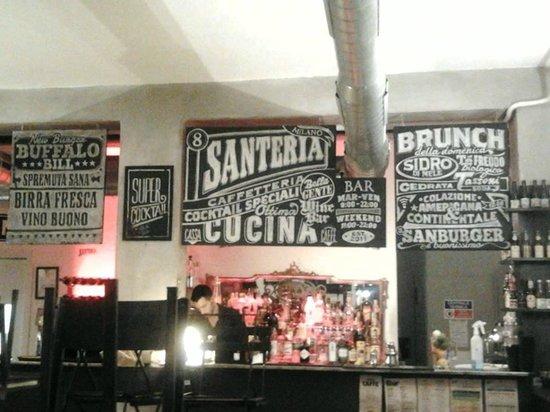 Santeria : interno e bar