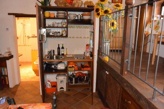 Ventena Vecchia - Antico Frantoio: kitchenette