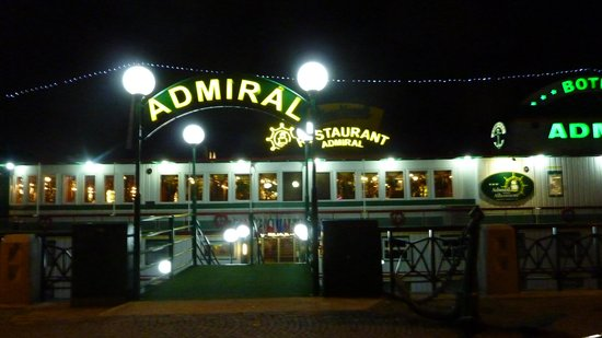 Botel Admiral: The Admiral in Prague