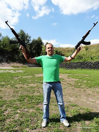 Shooting Range Prague: AK-47 is your must to do