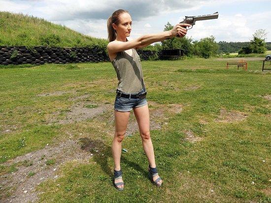 Shooting Range Prague: Powerfull revolver .357MAGNUM