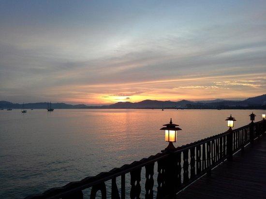 De Baron Resort Langkawi: view from hotel
