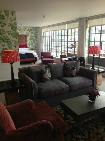 The Soho Hotel : Penthouse Suite