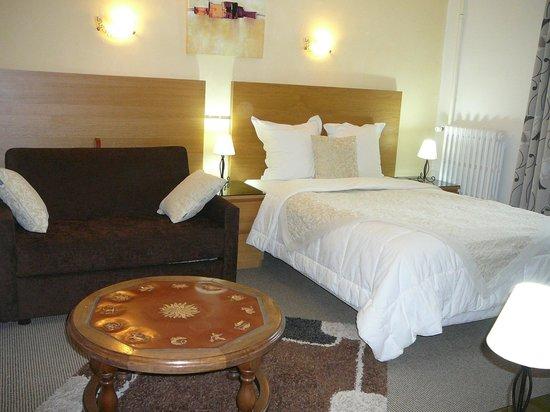 Hotel Au Soleil d'Or : Chambre supérieur N10