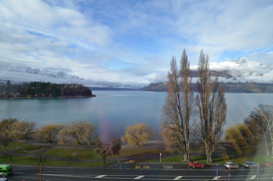 Rydges Lakeland Resort Hotel Queenstown: View from the Restaurant