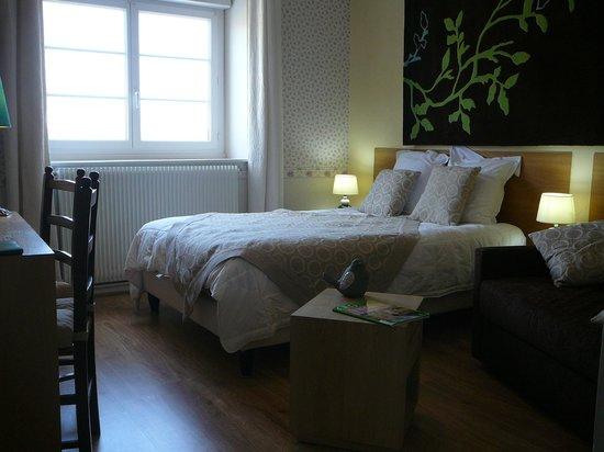 Hotel Au Soleil d'Or : Chambre supérieur 16