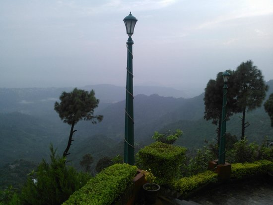 The Sirmour Retreat: View from top