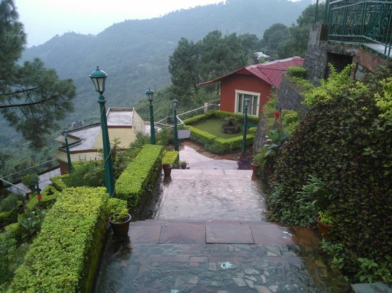 The Sirmour Retreat: View from terrace