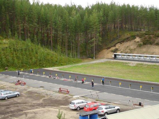 Vuokatti Sport Hotel: Биатлонное стрельбище в 10 мин пешком от отеля