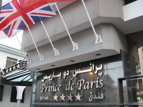 Facade Picture Of Hotel Prince De Paris Casablanca